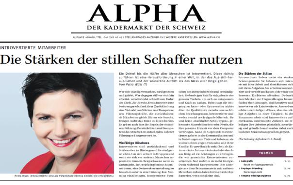 Artikel Alpha